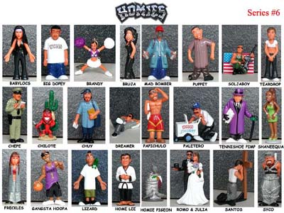 Detail Picture for HOMIES SERIES 6 FULL SET
