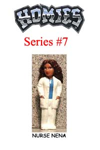 HOMIES SERIES 7 NURSE NENA Picture