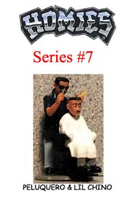 HOMIES SERIES 7 PELUQUERO AND LIL CHINO Picture