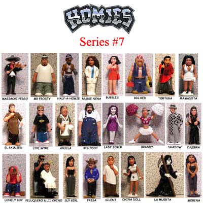 Click for HOMIES SERIES 7 FULL SET Detail
