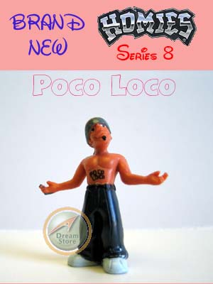 Detail Picture for HOMIES SERIES 8 Poco Loco