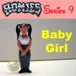 Click for HOMIES SERIES 9 Baby Girl Detail