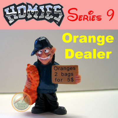 Detail Picture for HOMIES SERIES 9 Orange Dealer