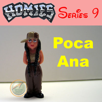 Detail Picture for HOMIES SERIES 9 Poca Ana