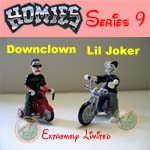 Picture for HOMIES SERIES 9 Downclown and Lil Joker with Bike