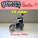 Picture for HOMIES SERIES 9 Lil Joker with Bike