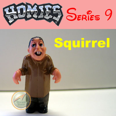 Detail Picture for HOMIES SERIES 9 Squirrel