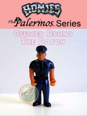 Detail Picture for HOMIES PALERMOS SERIES Officer Bruno The Baton