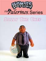 Click for HOMIES PALERMOS SERIES Sally The Chef Detail
