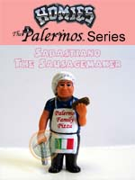 Click for HOMIES PALERMOS SERIES Sabastiano The Sausagemaker Detail