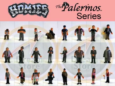 Detail Picture for HOMIES PALERMOS SERIES FULL SET