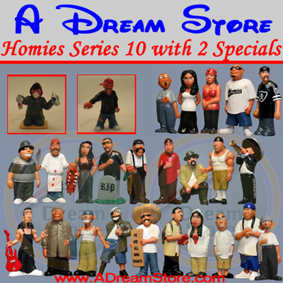 Detail Picture for HOMIES SERIES 10 FULL SET With 2 Special Characters