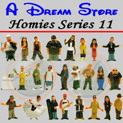 Detail Picture for HOMIES SERIES 11 FULL SET