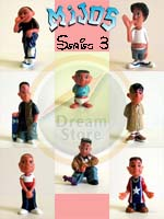 Click for Mijos Series 3 full set (8 Figures) Detail