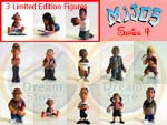 Click for Mijos Series 4 full set plus 3 limited edition (13 Figures) Detail