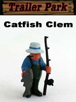 Click for Homies Trailer Park Series 1 Catfish Clem Detail