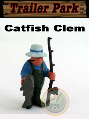 Detail Picture for Homies Trailer Park Series 1 Catfish Clem