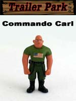 Click for Homies Trailer Park Series 1 Commando Carl Detail
