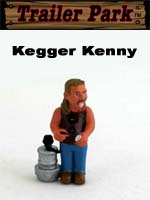 Click for Homies Trailer Park Series 1 Kegger Kenny Detail