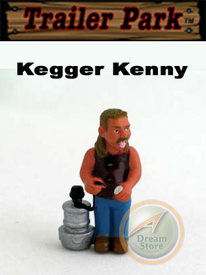 Detail Picture for Homies Trailer Park Series 1 Kegger Kenny