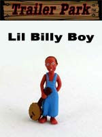 Click for Homies Trailer Park Series 1 Lil Billy Boy Detail