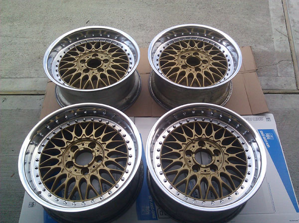 Bmw Bbs Rc090 Split Rims 17 Quot Bbs Rs Rc Lm Style 5 Gold Wheels Bmw M3 M5 M6 Coupe Ebay