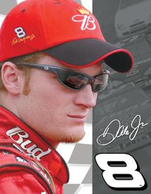 Click for Dale Jr. - Close Up Detail