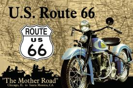 Click for The Mother Road US Route 66 Detail