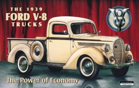 Detail Picture for FORD PICK-UP - 1939