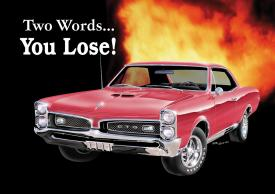 Click for PONTIAC GTO - YOU LOSE Detail