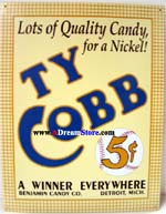 Click for TY COBB 5 CENTS Detail