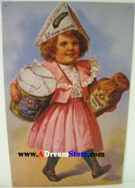 Click for HEINZ GIRL IN PINK DRESS Detail