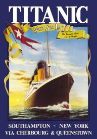 Click for TITANIC YELLOW BANNER Detail